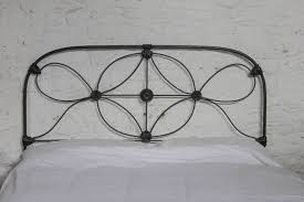 irish king size no end all iron in black kingsize antique bed