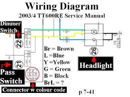 headlight installing a switch 99 xt600e horizons unlimited
