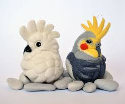 i needle felt different species of birds inspired by nature veriy