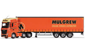 corgi mercedes benz actros mp4 curtainside trailer mulgrew haulage