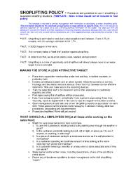 policy and procedure template forms fillable u0026 printable samples