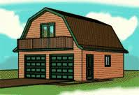 gambrel roof garages garage plans with gambel roofs blueprints