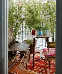 boho chic balcony rugs