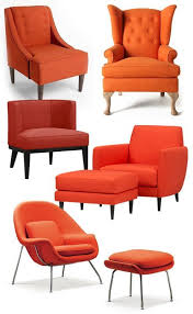 Burnt Orange Accent Chair Beautiful Living Rooms Best 25 Orange Chairs Ideas On