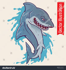 shark open mouth shark tattoo prints stock vector 668693437