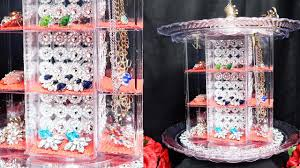 light up display stand dollar tree dollar tree diy jewelry carousel youtube