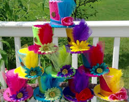 Mad Hatter Decorations Tea Party Hats Etsy