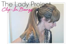 clip in bangs the project clip in bangs beauty blitz