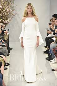 wedding dresses with sleeves 55 sleeve wedding dresses for a fall wedding brides