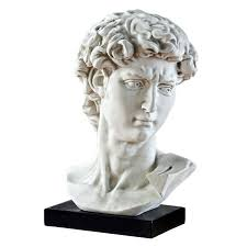 michelangelo s david amazon com design toscano bust of michelangelo u0027s david statue