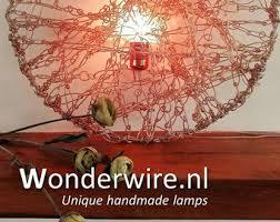 Unique Handmade Lamps Wonderwire Unique Handmade Lamps By Wonderwirelamps On Etsy
