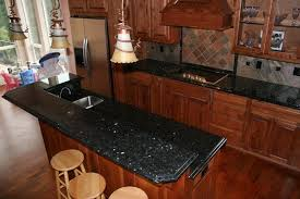 Black Granite Kitchen Countertops by Elegant And Stylish Granite Tile Countertops Home Design And