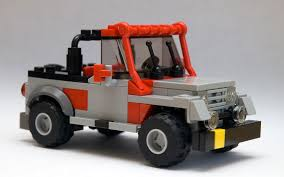 jurassic world jeep lego