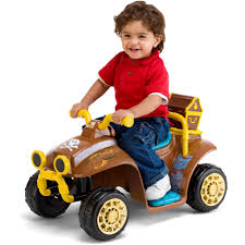 kid trax 6v disney jake neverland pirates quad ride