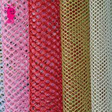 fabric tulle soft tulle fabric high quality thick hexagonal mesh tulle fabric