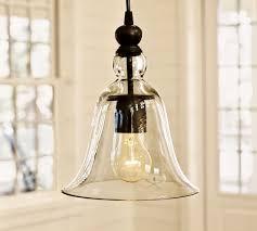 Rustic Pendant Lighting Small Rustic Glass Indoor Outdoor Pendant Pottery Barn