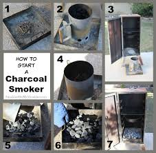how to light charcoal how to use an outdoor smoker