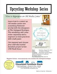upcycling workshop giveaway the salvaged boutique