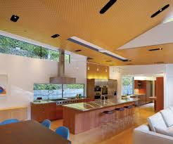 Track Lighting Kitchen by Modern Track Lighting Kitchen With Light Wooden Cabinetry1