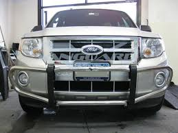 Ford Escape Length - 08 12 ford escape front runner bull bar bumper protector grill