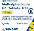 effects of snorting methylphenidate hcl