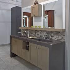 vanité chambre de bain cuisines beauregard salle de bain réalisation b11 vanité de