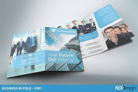 business bi fold sk brochure templates creative market