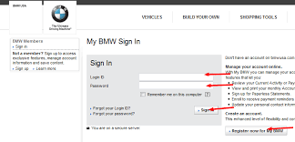 my account bmw bmw financial services bill payment options bill pay http guide