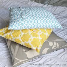 Where To Buy Sofa Pillows by A Free Tutorial On How To Make A Diy Throw Pillow Cover With
