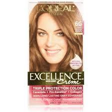light golden brown hair color l oreal paris excellence creme triple protection hair color light