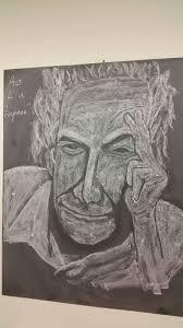 feynman in chalk news