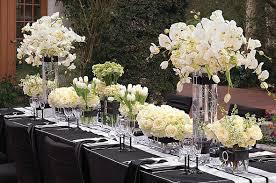decoration de mariage et blanc decoration mariage noir blanc argent votre heureux photo de