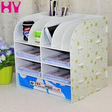 Cheap Desk Top Office Supplies Desk Accessories Document File Cabinet Large