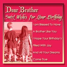 birthday wishes for brother messages greetings and fantastic meme