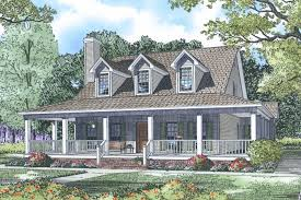 Farmhouse With Wrap Around Porch Wrap Around Porches Time To Build