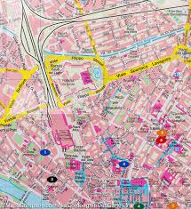 Italy Cities Map by Florence City Pocket Map Italy Freytag U0026 Berndt U2013 Mapscompany