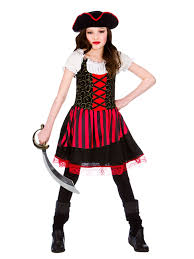 Pirates Caribbean Halloween Costume Child 8 10 Pretty Pirate Kid Fancy Dress Caribbean Halloween