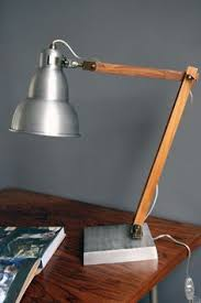 Woodworking Plans Desk Lamp by Diy Industrial Desk Light Arm If The Lamp Is A Lightweight Led