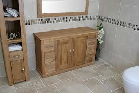 Bathroom Furniture Oak Spacious Oak Bathroom Storage Cabinet Bathroom Best References