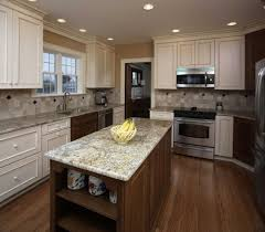 kitchen counter remodel syracuse cny small construction the granite surfaces this kitchen island and counters provide ample work space for