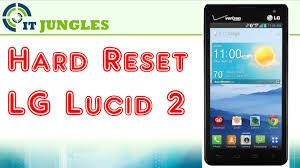 Lucid 2 How To Hard Reset Lg Lucid 2 Youtube