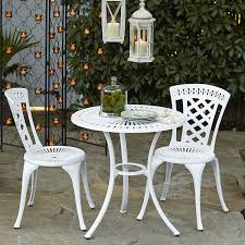 Pier One Bistro Table Neely Bistro Set White Pier 1 Imports Patio Pinterest
