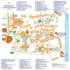 Cozumel Map Mexico U0026 Caribbean Iberostar Resorts Maps