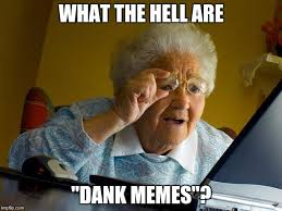 What The Hell Meme - what the hell are dank memes meme