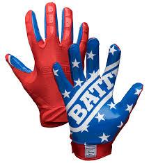 American Battle Flag Battle Sports American Flag Football Gloves Free Shipping Ithaca