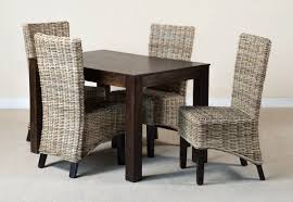 Mango Dining Table Kubu Rattan 4 Seater Mango Dining Set Casa Furniture Uk