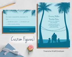 wedding invitations sets custom drawing wedding invitations blue weddings