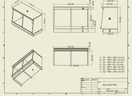 Desk Plans by D I Y Pro Audio Studio Compact Rack Desk Plans
