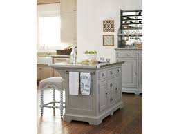 threshold kitchen island paula deen the kitchen island with stainless wrapped metal