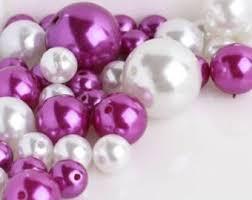 Pink Vase Fillers Filler Beads Etsy
